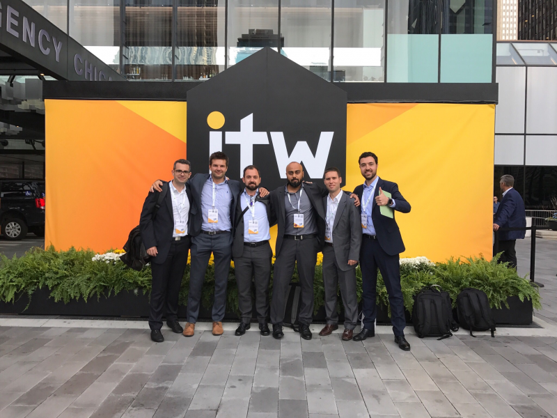Brodynt delegation at ITW'17