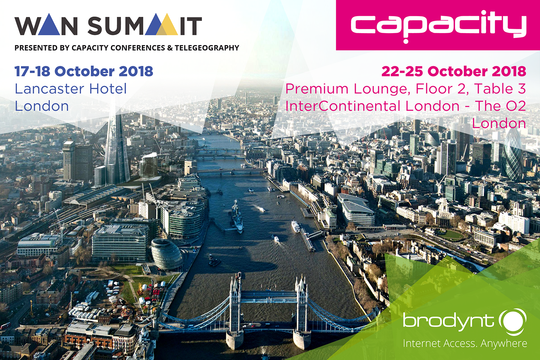 Capacity Europe and WAN Summit 2018