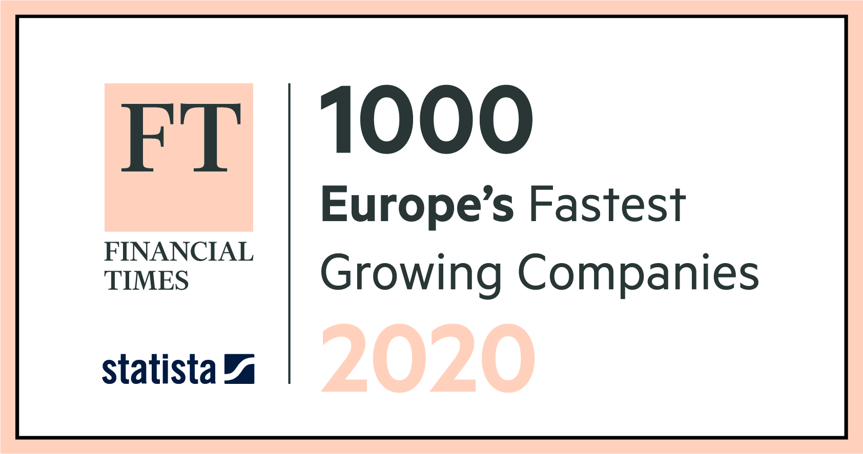 2020 Fastest Growing Company