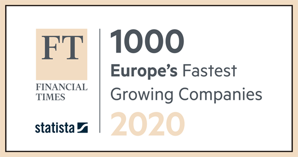 Brodynt FT 1000 fastest growing companies Europe